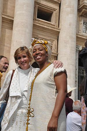 Ven. Anne in Rome